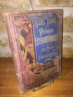 Voyages extraordinaires | Le pays des  fourrures | Jules Verne | Hetzel