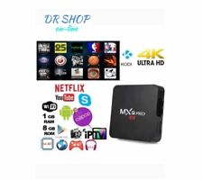 TV BOX ANDROID MXQ PRO 4K SMART IPTV OR7 PENTACORE 64 BIT WIFI ROM 16GB MINI PC