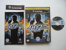 James Bond 007 in Agent Under Fire  - Nintendo Gamecube - Complete In Box - CIB