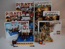 Lego 3848 + 3855 Pirate Plank Ramses Return Board Games COMPLETE TOP