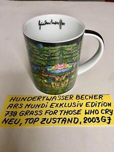 Hundertwasser Magic Mug Kaffeebecher Ars Mundi - NEU