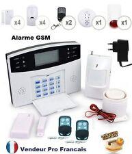 Alarme de Maison Téléphonique sans fil GSM Sirène Extérieure Détecteur Fumée 4/4