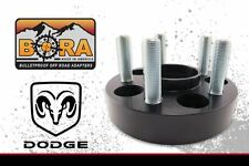 "Dodge Ram 1500 1.25"" Wheel Spacers 2012+ (2) by BORA Off Road - Made in the USA"