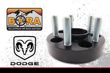 "Dodge 1500 2002-2011 Wheel Spacer Kit: 2 @ 1.50"" & 2 @ 1.75"" by BORA - USA Made"