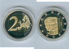 Luxemburg  2 Euro 2009  Großherzogin Charlotte PP  Nur 5.000 Stück!
