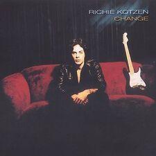 Change by Richie Kotzen (CD, Oct-2003, Shrapnel)