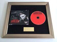 SIGNED/AUTOGRAPHED ENTER SHIKARI - LIVE IN THE BARROWLAND FRAMED CD PRESENTATION