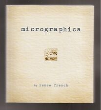 Graphic Novel Micrographica NmMt Paperback GN By Renee French 1st Ed Comic Book