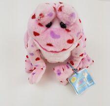 WEBKINZ*Pink Love Frog Plush**with Code