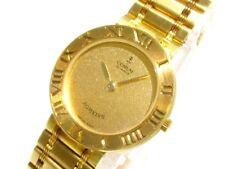 Auth CORUM Romulus 30103.56V48 18K Yellow Gold Women's Wrist Watch 422311