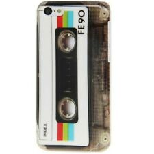 TPU Case Hülle Apple iPhone 5C CASSETTE Musik-Kassette Schutzhülle Case Cover