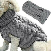 Puppy Small Dog Jumper Chihuahua Winter Knitted Sweater Pet Clothes Coat Apparel