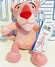 New The Pink Panther Doll Plush Toy FACTORY Big Head Stuffed Animal Cartoon NWT