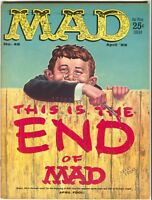 Mad Magazine 46 1959 FN VF Wally Wood April Fools Donald Duck Charlie Brown