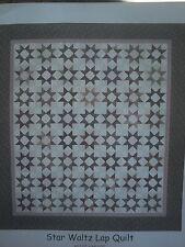 """New listing Star Waltz Quilt Fabric Kit w/ Flannel Fabrics 61 1/2"""" x 68 1/2"""""""