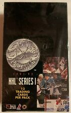 Unopened 1991-92 Pro Set Platinum Hockey Box NHL 36 Packs Sealed Series 1