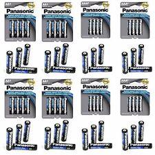 Wholesale 48 Panasonic AA Double A Battery + 48 AAA Triple A Battery Bulk Lot
