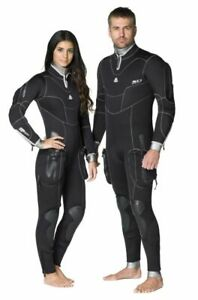 Waterproof Women's SD Combat 7mm back zip Semi Dry Small Black