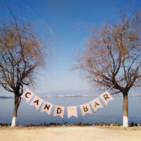 MagiDeal CANDY BAR Bunting Banner Wedding Party Hanging Decor Photo Prop