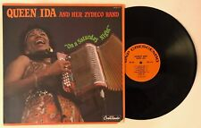 Queen Ida & Her Zydeco Band - On A Saturday Night 1984 GNP/Crescendo LP NM/VG+