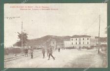 CASALECCHIO DI RENO, Bologna. Via di Bazzano, stazione del tram e ristorante...