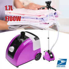 Portable 1.7L Standing 1300W Clothes Garment Steamer Electric Home Steam Iron US