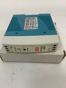 Mean Well MDR-20-15 AC to DC DIN-Rail Power Supply 15 Volt 1.34 Amp 20 Watt