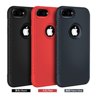 Silicone Case Ultra Slim Shockproof Cover for Apple iPhone X XR XS Max 8 7 6