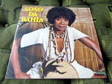 SOSO DA BAHIA 1978 LP BRAZIL MINT AFRO CANDOMBLE FOLK SAMBA MPB