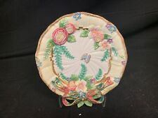 Fitz & Floyd Decorative Wall Plate Majolica Butterfly