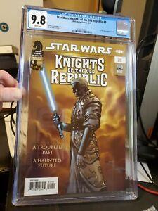 STAR WARS Knights of the Old Republic #9 CGC 9.8 Dark Horse - 1st DARTH REVAN🔥