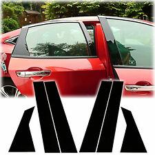 For Honda Civic 10th 16-20 Glossy Black Door Window Pillar Posts Cover Trim NEW