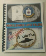 WIKILEAKS UFO FILES BOOK Government Secrets on UFOs and Aliens revealed!