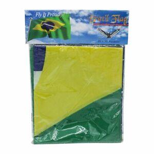 Brazil Flag 3x5 Ft