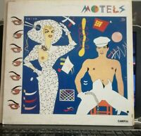 MOTELS - CAREFUL - 33 GIRI VINILE LP - PROMO 1980 MARTHA DAVIS - NUOVO