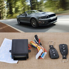 Universal Car Remote Control Central Door Lock Kit Vehicle Keyless Entry System