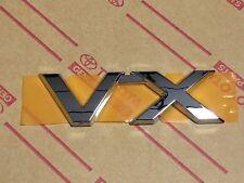 Genuine OEM Toyota Land Cruiser VX badge 200 series