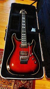 Schecter C-1 custom FR electric guitar
