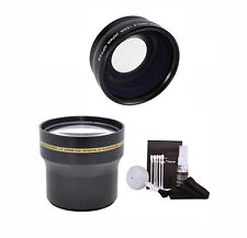 58MM 3.7X TELEPHOTO FISHEYE  MACRO LENS FOR CANON EOS REBEL 20D 1100D T3 T3I T4