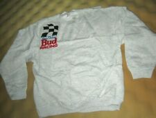 Nascar Driver Bill Elliott #11 Vintage 1992 Bud Racing XL Sweatshirt