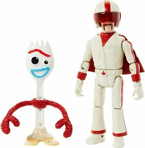 """Toy Story 4 Storytelling 2-Pack with 3"""" Tall Forky and 5.9"""" Tall Duke Caboom"""