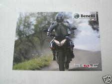 D909 BROCHURE BENELLI TORNADO TRE  899 NAKED  ITALIAN 2 PAGES MOTORCYCLE BIKE