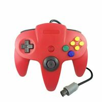 Red N64 Gamepad Controller (for Nintendo 64) Tight Joystick Free Ship