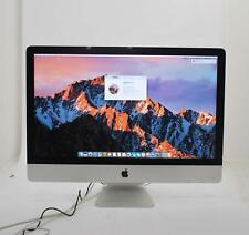 "Apple iMac 27"" 2013 A1419 Core i5-4570 3.2GHz 1TB HDD 12GB RAM OSX 10.12.6 READ"
