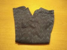 Women's Sonoma Size 8 M Blue Gray Modern Fit Slim Skinny Capri Cropped Pants!!