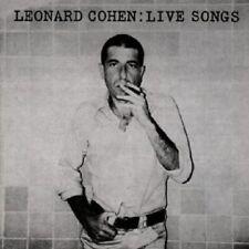 "LEONARD COHEN ""LIVE SONGS"" CD NEUWARE"