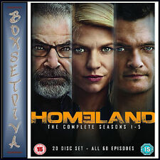 HOMELAND - COMPLETE SEASONS 1 2 3 4 & 5  *BRAND NEW DVD BOXSET***