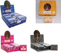 incenso Satya Nag Champa (Golden, Goloka, Darshan) coni di incenso scatola piena
