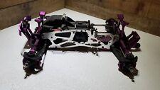 HPI Savage w/Aluminum 1/8 Monster Truck Roller/Slider 4 Parts or Repair