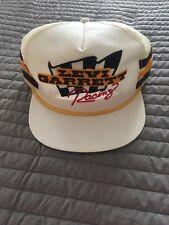 Vintage 1980's Levi Garrett Racing NASCAR Snapback Trucker Mesh Hat NICE L@@K